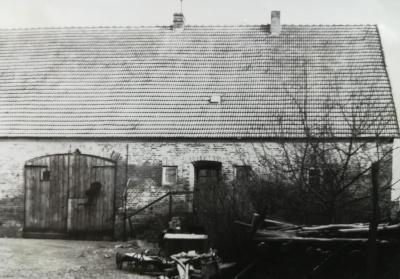 Haupthaus wie es früher aussah